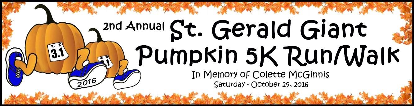 St. Gerald Giant Pumpkin 5K